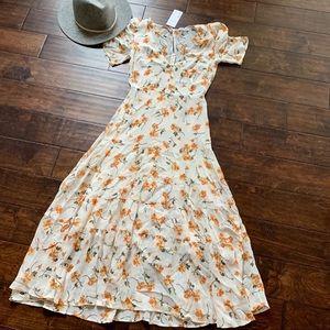 {Reformation} Cosa Midi Dress